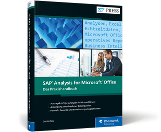 Cover von SAP Analysis for Microsoft Office