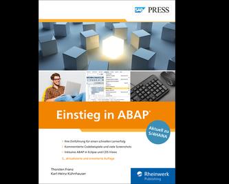 Cover von Einstieg in ABAP