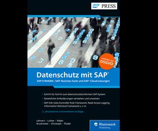 Cover von Datenschutz mit SAP