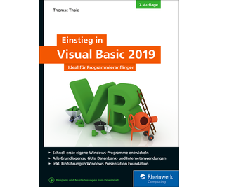 Cover von Einstieg in Visual Basic 2019