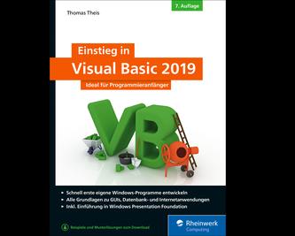 Cover von Einstieg in Visual Basic 2019