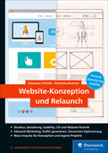 Cover von Website-Konzeption und Relaunch