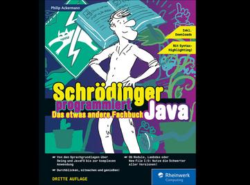Cover von Schrödinger programmiert Java