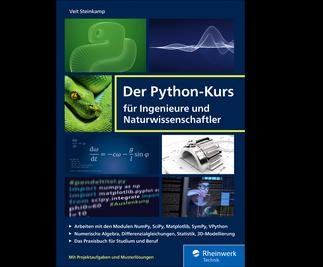 Cover von Der Python-Kurs für Ingenieure und Naturwissenschaftler