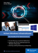 Cover von Sichere Windows-Infrastrukturen