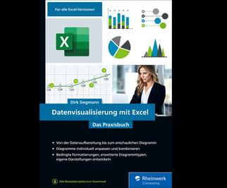 Cover von Datenvisualisierung mit Excel