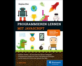 Cover von Programmieren lernen mit JavaScript