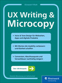 Cover von UX Writing & Microcopy