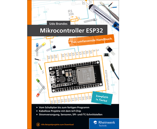 Cover von Mikrocontroller ESP32