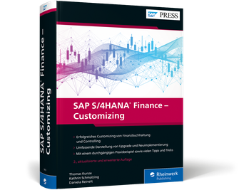 Cover von SAP S/4HANA Finance – Customizing