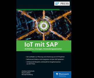 Cover von IoT mit SAP