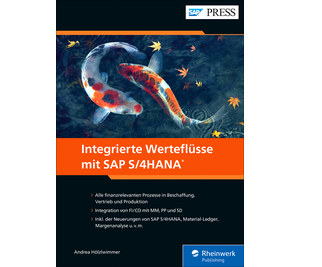 Cover von Integrierte Werteflüsse mit SAP S/4HANA