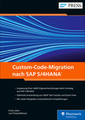 Cover von Custom-Code-Migration nach SAP S/4HANA
