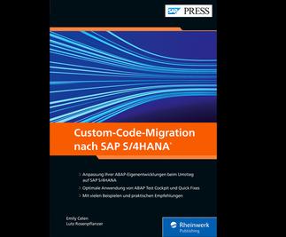 Cover von Custom-Code-Migration nach SAP S/4HANA