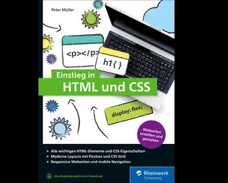 Cover von Einstieg in HTML und CSS