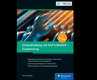 Cover von Instandhaltung mit SAP S/4HANA – Customizing