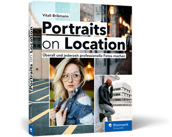 Cover von Portraits on Location