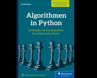 Cover von Algorithmen in Python