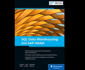 Cover von SQL Data Warehousing mit SAP HANA