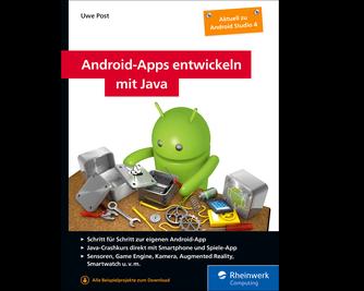 Cover von Android-Apps entwickeln mit Java