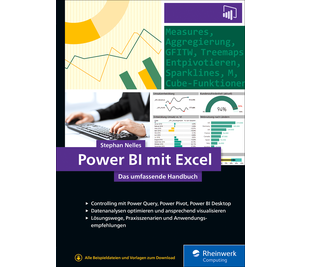 Cover von Power BI mit Excel