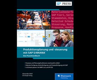 Cover von Produktionsplanung und -steuerung mit SAP S/4HANA