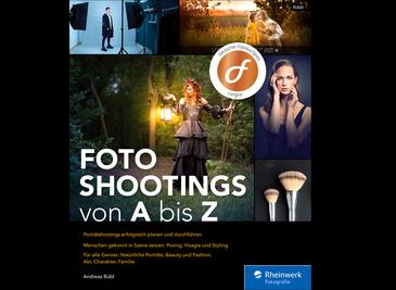 Cover von Fotoshootings von A bis Z