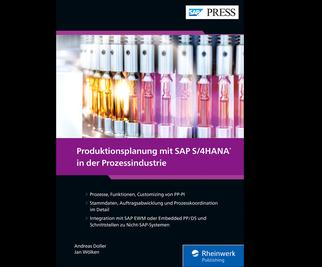 Cover von Produktionsplanung mit SAP S/4HANA in der Prozessindustrie