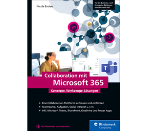 Cover von Collaboration mit Microsoft 365