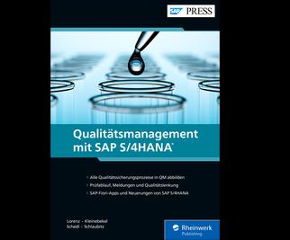 Cover von Qualitätsmanagement mit SAP S/4HANA