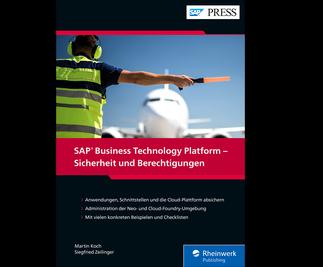 Cover von SAP Business Technology Platform – Sicherheit und Berechtigungen