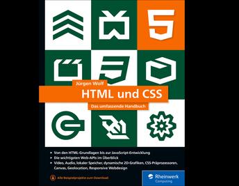 Cover von HTML und CSS