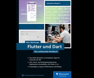 Cover von Flutter und Dart