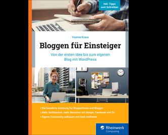 Cover von Bloggen für Einsteiger