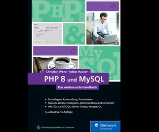 Cover von PHP 8 und MySQL