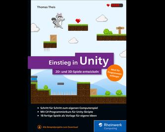 Cover von Einstieg in Unity