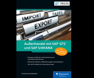 Cover von Außenhandel mit SAP GTS und SAP S/4HANA
