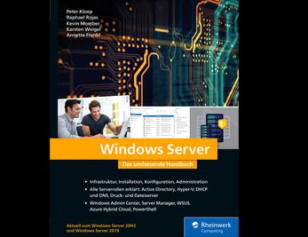 Cover von Windows Server
