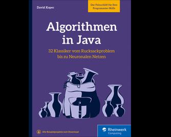 Cover von Algorithmen in Java