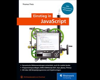 Cover von Einstieg in JavaScript