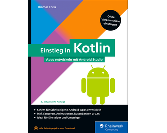 Cover von Einstieg in Kotlin