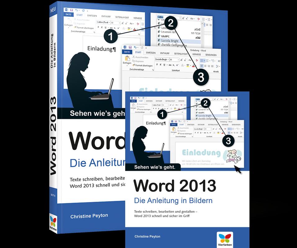 Word 2013 – Die Anleitung in Bildern Vierfarben