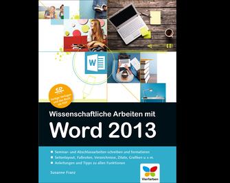 Cover von Wissenschaftliche Arbeiten mit Word 2013