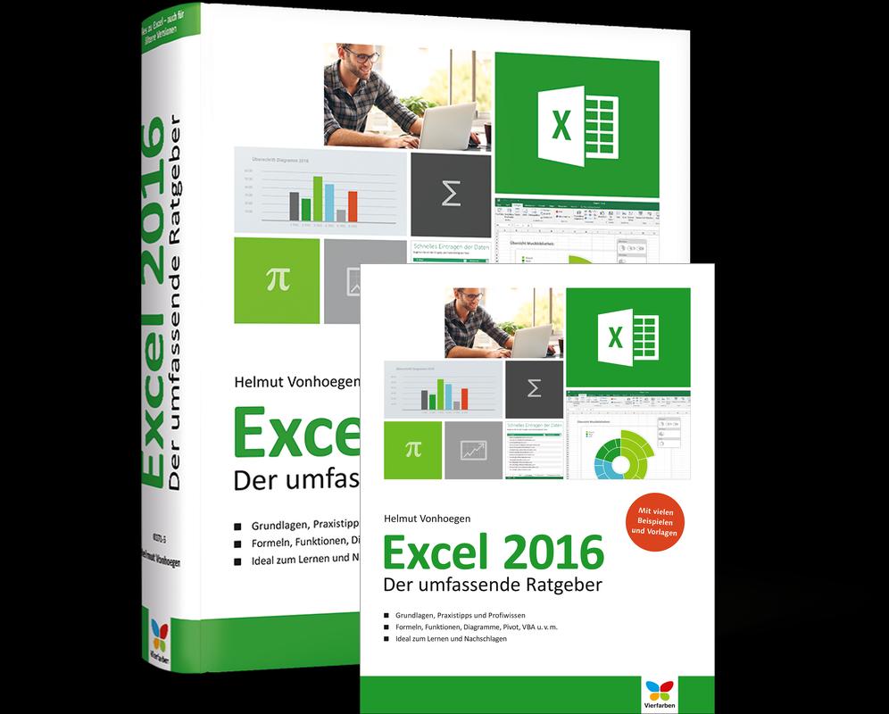 Excel    2016           Der       umfassende       Ratgeber     Vierfarben
