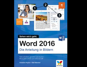 Cover von Word 2016