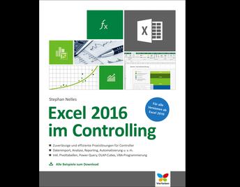 Cover von Excel 2016 im Controlling