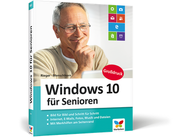Cover von Windows 10 für Senioren