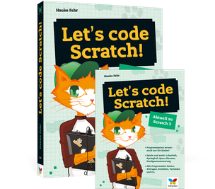 Cover von Let's code Scratch!