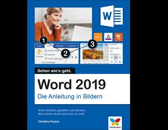 Cover von Word 2019