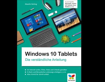 Cover von Windows 10 Tablets